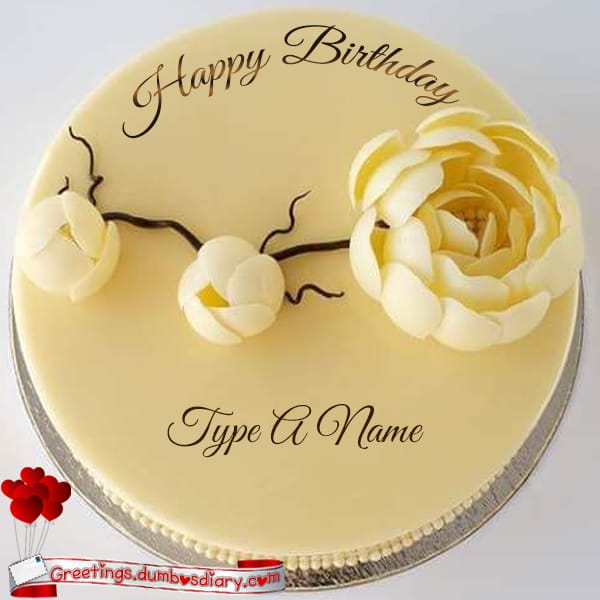Beautiful Three Rose birthday cake cover
